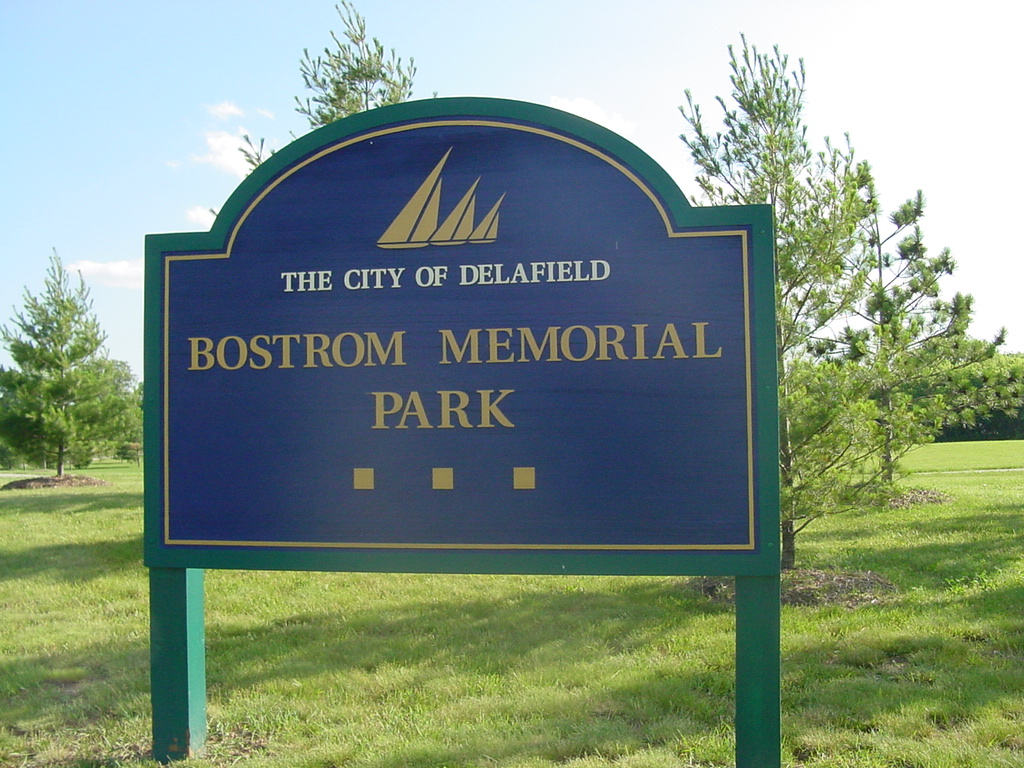 Bostrom Park Sign